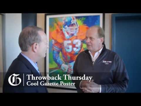 Throwback Thursday with Randy Gradishar - Former Denver Bronco