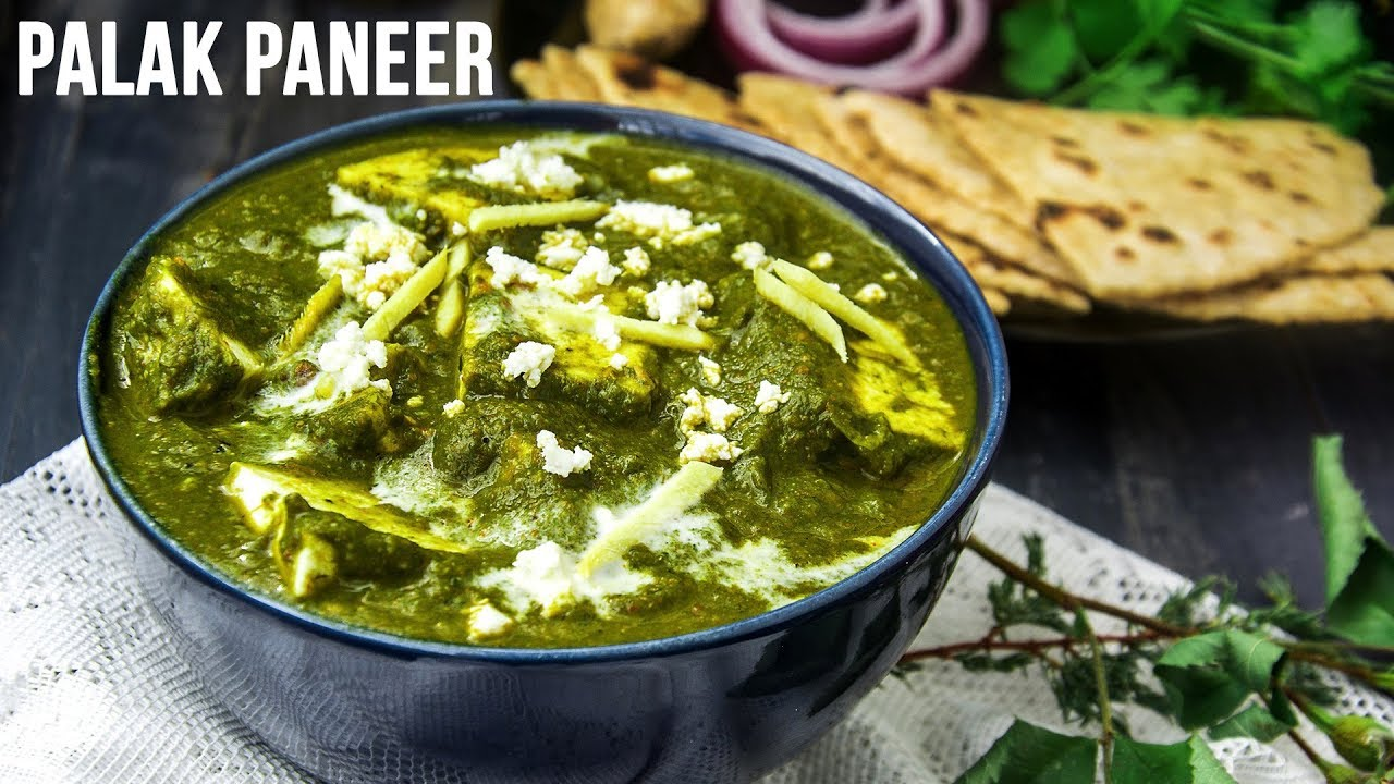 how to cook palak paneer youtube
