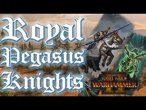 UNDERRATED UNIT: Royal Pegasus Knights - NotFaytonnia vs Wood Elves // Total War: WARHAMMER II MP |