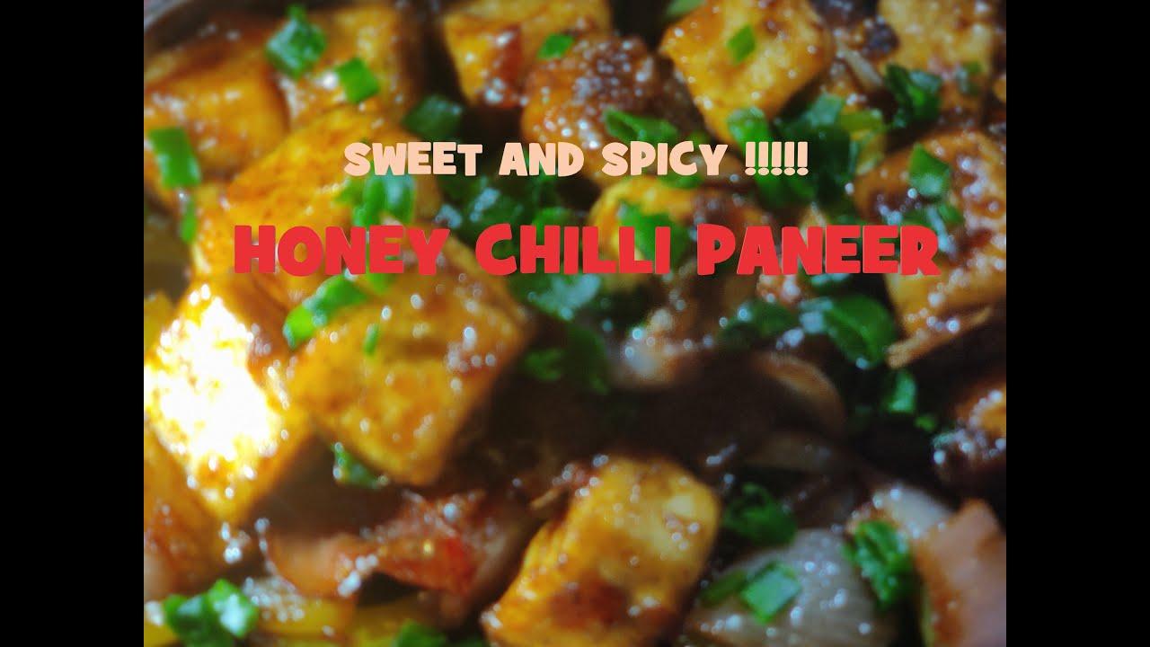 Honey chilli paneer| Evening snack recipes|