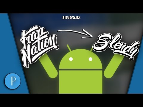 [Fast And Easy] Trap Nation Style Logo | PixelLab | Android