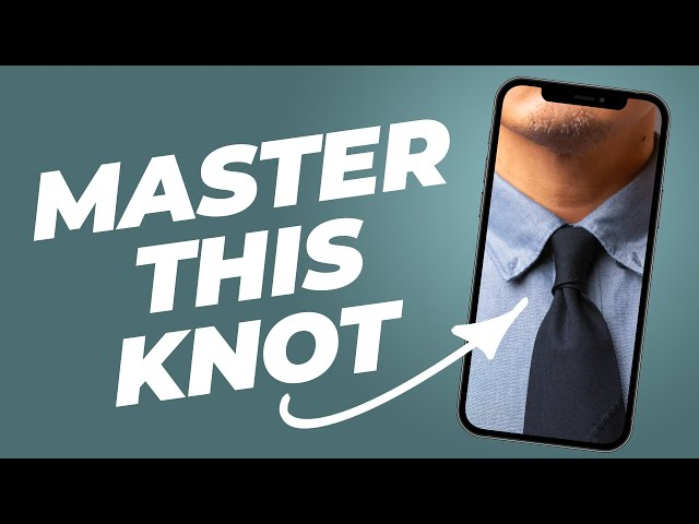 Four In Hand: The ONLY Tie Knot You Need To Know #Shorts • Effortless Gent