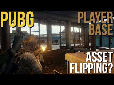 PUBG Asset Flipping & Player Base Declining?