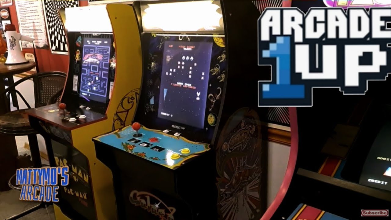 Arcade1Up Cabinets Inside and Out, With Marquee Mods