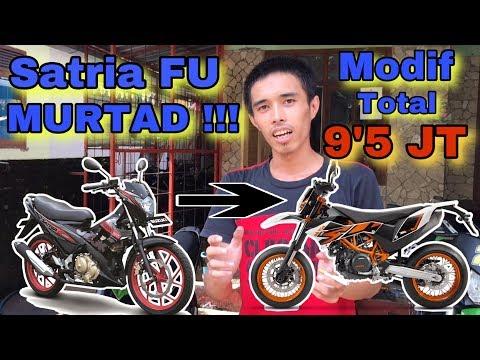 EPS.1 || Satria FU modif SuperMoto(SuperFU) || Review Parts !!!