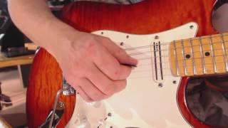 Pick Slanting amp Edging   Speed picking guitar lesson