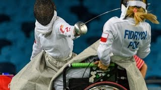 Wheelchair fencing highlights - Rio 2016 Paralympic Games