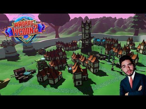 CONSTRUINDO NOSSO PRÓPRIO RPG ONLINE - MMORPG Tycoon 2 - (Gameplay/PC/PT-BR)