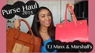 Repeat youtube video TJ Maxx & Marshall's Haul | April 2015 | Purses