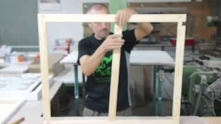 Barocco-shop.com - Comment monter un châssis bois pour entoiler