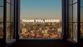 Together we've never been defeated. Thank you, Madrid.