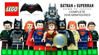LEGO® 2016 Batman v Superman: Dawn of Justice DC Comics Super Heroes Complete Minifigures