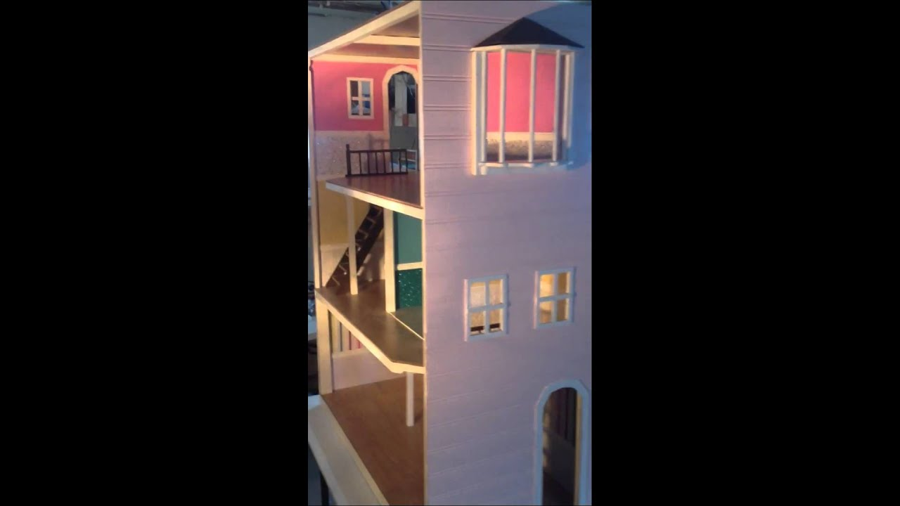 Custom Home Made Barbie Doll House Youtube