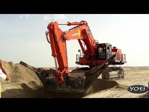 Increadible Massive Earth Moving Equipment