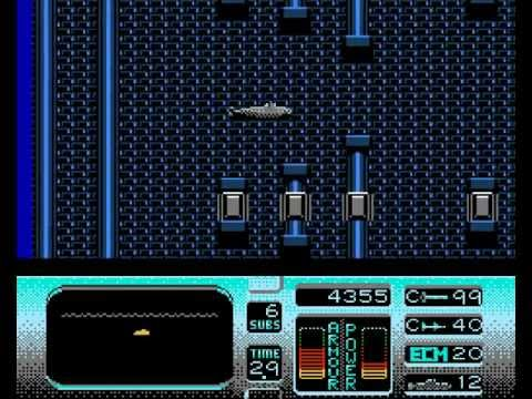Hunt for Red October Walkthrough/Gameplay NES HD 1080p