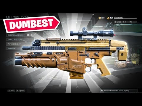 Making the DUMBEST Weapons possible in Call of Duty Modern Warfare!