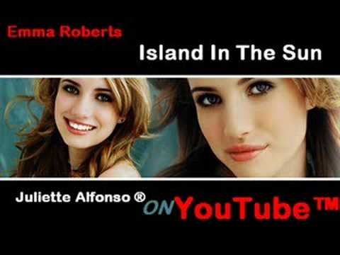 Emma Roberts - Island In The Sun ( Instrumental ) - YouTube