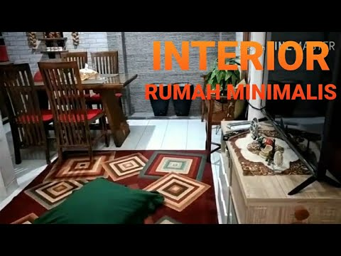 dekorasi interior rumah minimalis tipe 45 - youtube