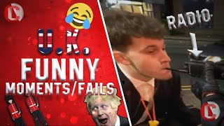 UK Funny Moments/Fails EXTREMELY FUNNY (England Scotland Ireland and Wales)