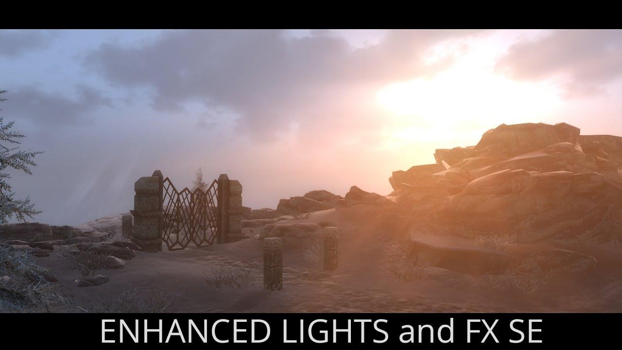 BEST LIGHTING MOD EVER - Skyrim SE mods - Enhanced Lights and FX