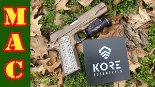 The Kore to your daily carry - a proper gun belt.