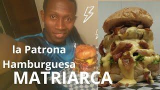 Probando la Hamburguesa MATRIARCA ( Cali-Colombia )