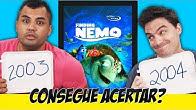 Desafio TENTE ACERTAR O ANO - A revanche!