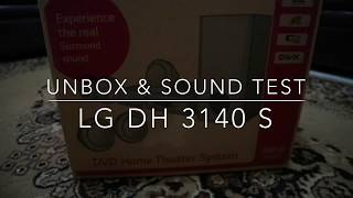Home Theatre Murah LG DH3140S (Unboxing & Sound Test)