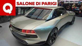 Il fascino delle coupé che torna: Peugeot E-Legend