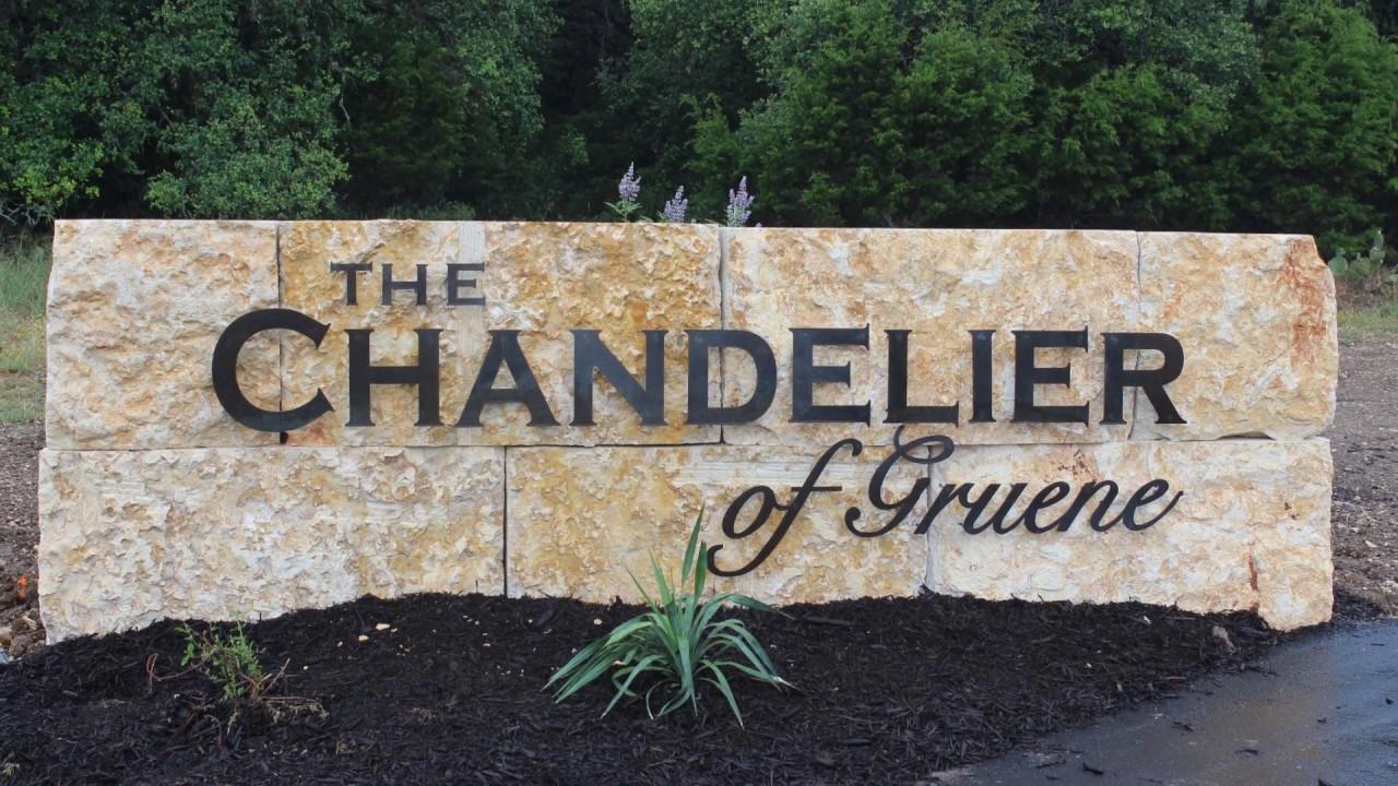 The Chandelier of Gruene - YouTube