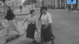 مشاهد من العدوان الثلاثى على مصر عام 56 ودخول الدبابات مدينه بور سعيد