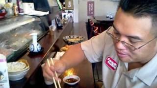 FoodTube.net, Japanese Restaurant, Hoshi, Santa Clara, CA