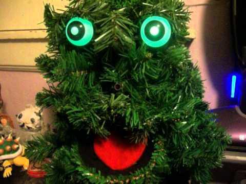 My douglas fir singing tree - YouTube