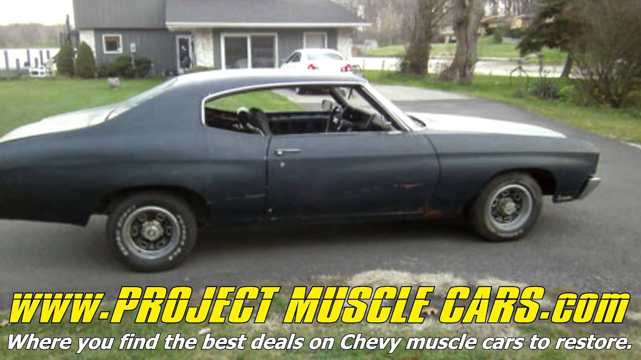 Chevy Project Muscle Cars - YouTube