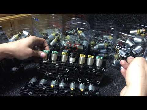 Проверка соленоидов АКПП 6T30 6T45 Cruze Astra