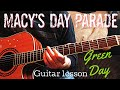 Macy's Day Parade Guitar Lesson