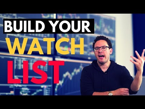 One Simple Step to Build your Penny Stock Watchlist