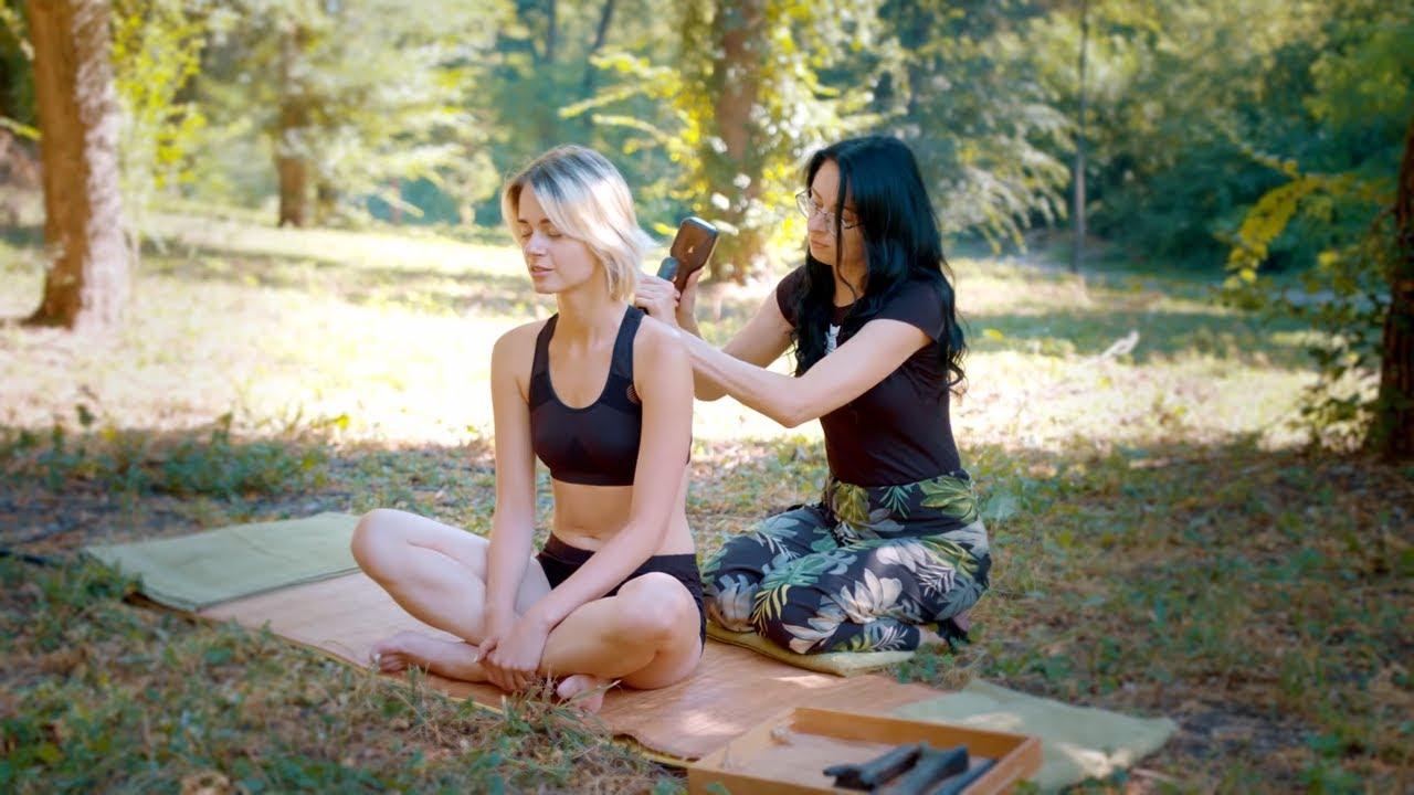 ASMR   MASSAGE   asmr Tok Sen head massage