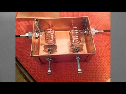 145 MHz Low Loss Bandpass Helical Filter by Mile Kokotov