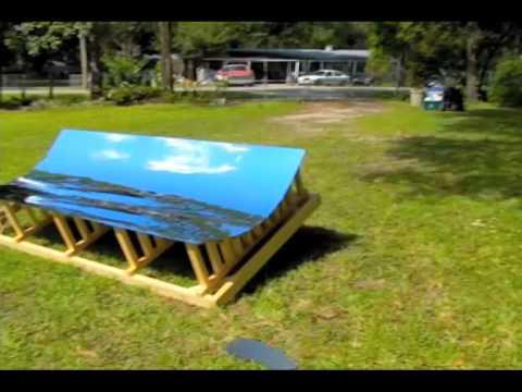 Trough Mirror Parabolic Parabola Reflector Solar Water