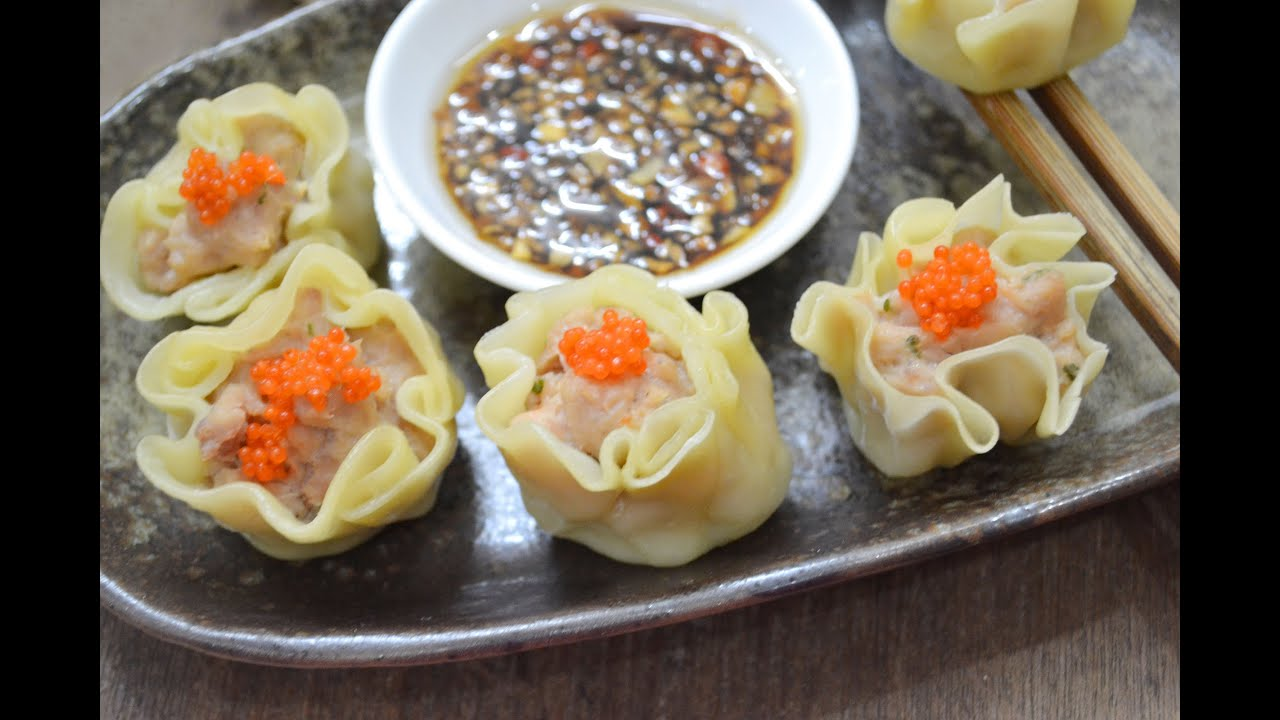 dim sum how to make dim sum siu mai hongkong recipe pork with shrimp siu mai youtube. Black Bedroom Furniture Sets. Home Design Ideas