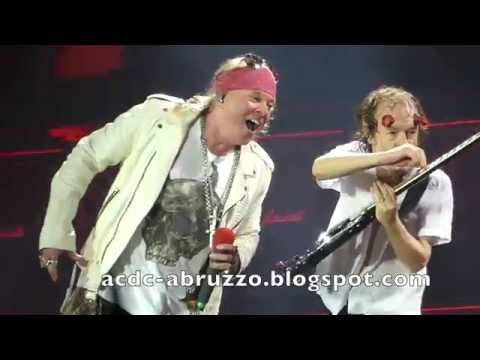 AC/DC and AXL ROSE - HIGHWAY TO HELL - Düsseldorf 15 June 2016