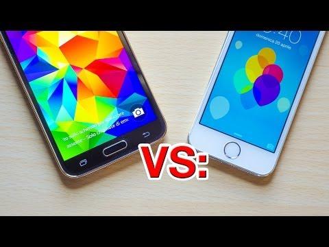 Touch ID iPhone 5S vs. Lettore Impronte Digitali Galaxy S5