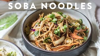 3 Soba Noodle Recipes 🍜delish Noodle Series | Honeysuckle