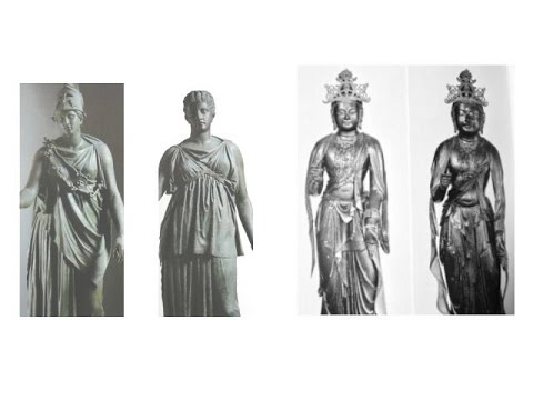 1618+1617 Greek Sculptures in Japan日本のギリシア彫刻(エイリアンの思考回路+快慶)ETs Thought Process