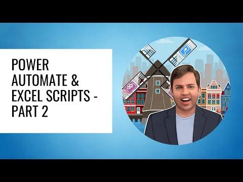 Power Automate & Excel Scripts - Part 2