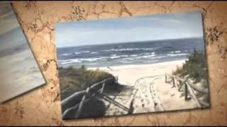 QUICKY ! Landschaftsmalerei, Landschaftsmaler, Steffen Reichow, Malerei Acryl, Acrylmalerei