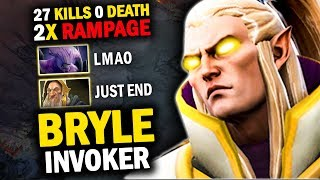 ABSOLUTELY EPIC GAME!! BRYLE INVOKER + BULBA vs FOREV + MARCH | EPIC COMBO CATACLYSM DOUBLE RAMPAGE