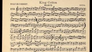 King Cotton march / Solo Cornet sheet music