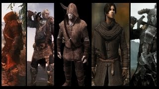 Skyrim- 5 Underrated Immersive Male Armor Mods
